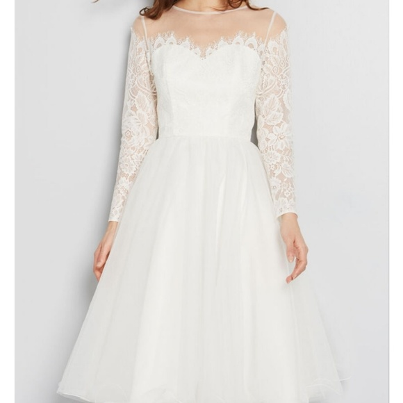Nwt Pinup Fit N Flare Wedding Gown Dress Nwt